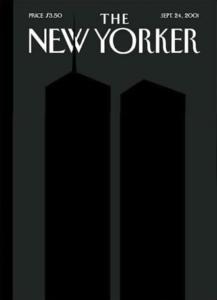 Couverture du New Yorker du 24 septembre 2001 réalisée par Art Spiegelman