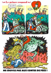 Dessin satirique d'Art Spiegelman